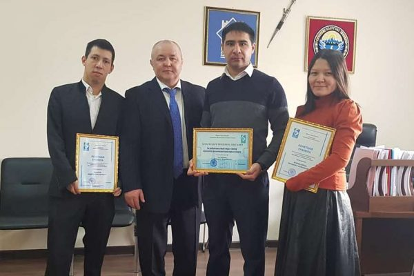 Honoring para-taekwondo fighters of Kyrgyzstan