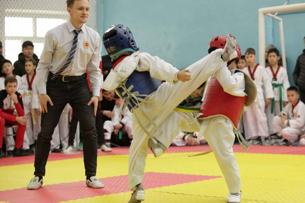 """Taekwondo Cup of the sports club """"Manas"""" in the among beginners"""
