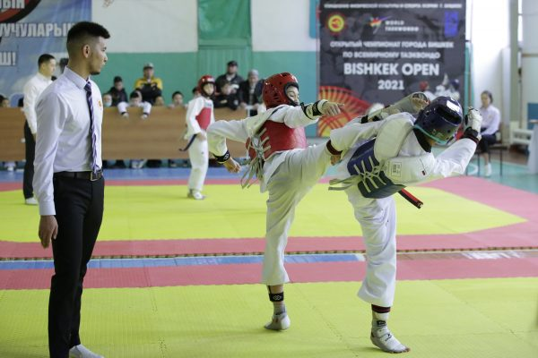 "Taekwondo championship ""Bishkek Open 2021"""