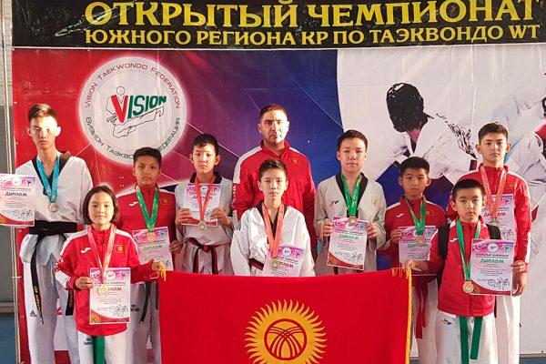 Taekwondo Championship of the Southern Region of the Kyrgyz Republic 2021