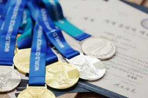 Students of the Taekwondo Academy of the Kyrgyz Republic won 11 medals at the Taekwondo Club World Championship